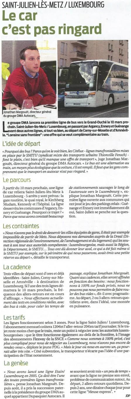 Article 300114-La Semaine-LSFBUS.com